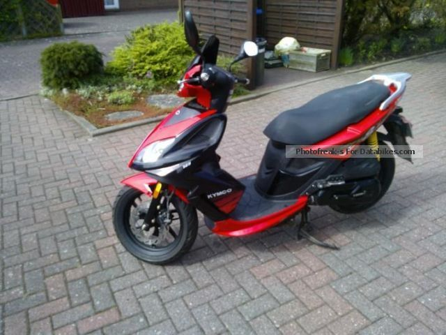2010 Kymco  125 TOP maintained condition! Motorcycle Scooter photo