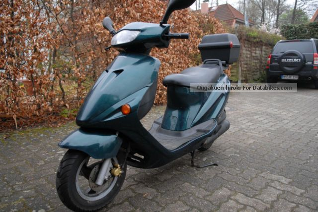 1997 Hyosung  Cab 100 Motorcycle Scooter photo
