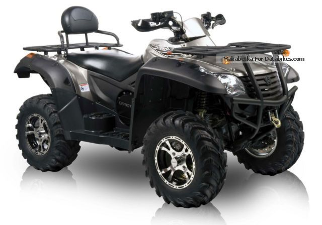 Explorer  CFMOTO Terraöander 625 EFI LOF with winch 2012 Quad photo