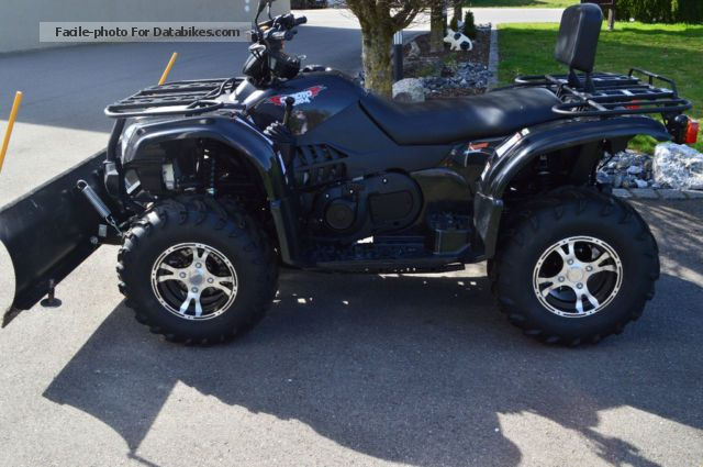 2014 Explorer  CF500A including snow plow Motorcycle Quad photo