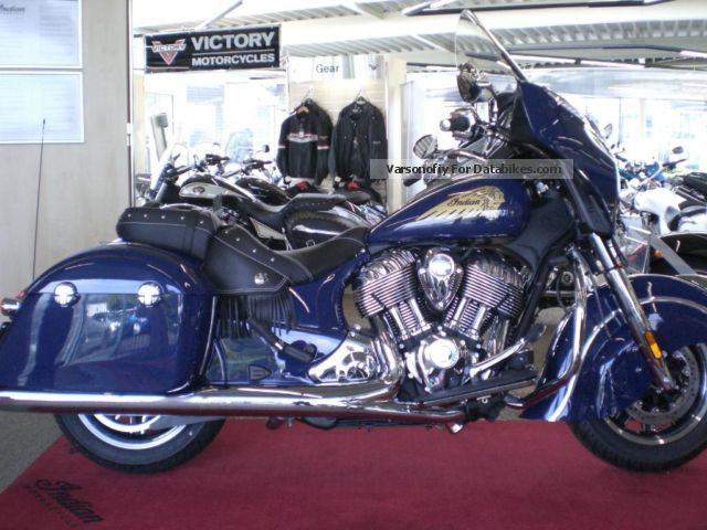 2014 Indian  Chieftain NEW 5 year warranty Motorcycle Chopper/Cruiser photo