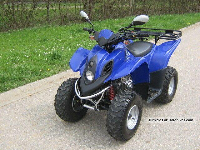 2006 Dinli  DL601-150 Helix-Sachs.Neuwertig Motorcycle Quad photo