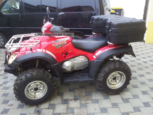 2008 Linhai  Hytrack 550 4X4 EFI Motorcycle Quad photo