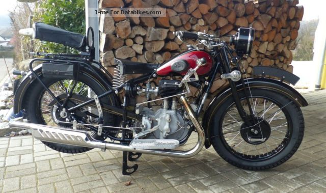 NSU  501 TS Oldtimer approval 1936 Vintage, Classic and Old Bikes photo