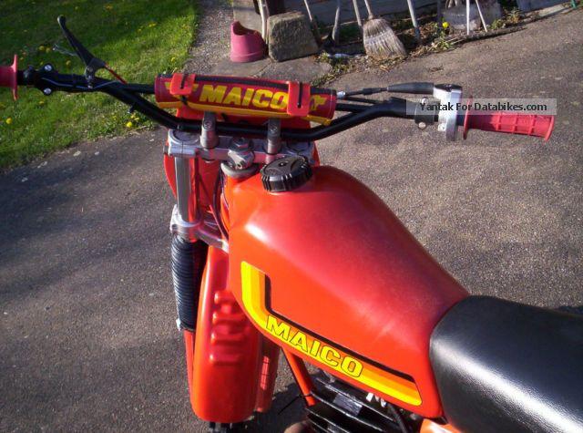1982 Maico MC 490 Alpha 1