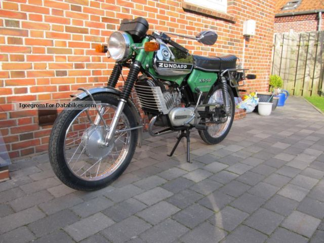Zundapp  Zündapp KS 50 Watercooled original condition 1976 Vintage, Classic and Old Bikes photo