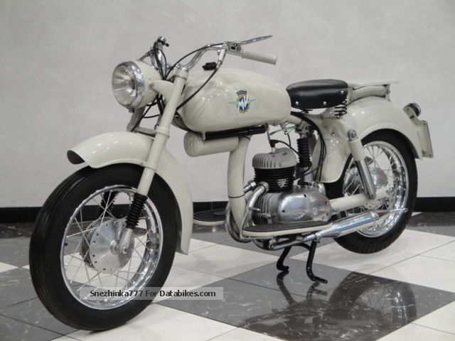MV Agusta  125 1953 Vintage, Classic and Old Bikes photo