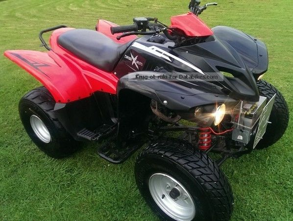 2007 Adly  Hercules 300cc. Cross Road. Very Guide. Motorcycle Quad photo
