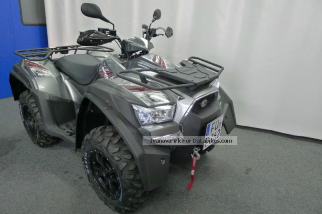 2014 Kymco  MXU 550i LOF with factory warranty Motorcycle Quad photo