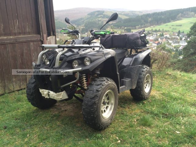 2011 Triton  ATV Outback automatic winch AHK Qaud Motorcycle Quad photo
