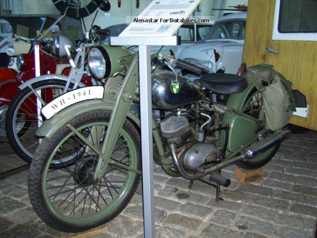 Puch  125 Wehrmacht 1944 Vintage, Classic and Old Bikes photo