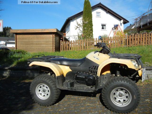 2007 CFMOTO  Explorer 4x4 Motorcycle Quad photo