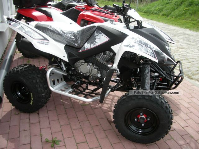2012 Adly  400 XS Quad Hurricane switching Motorcycle Quad photo