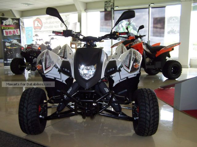 2012 Adly  400 Supermoto Motorcycle Quad photo