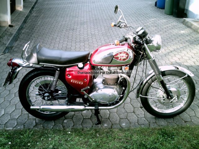 2012 BSA  A 65 T Motorcycle Motorcycle photo