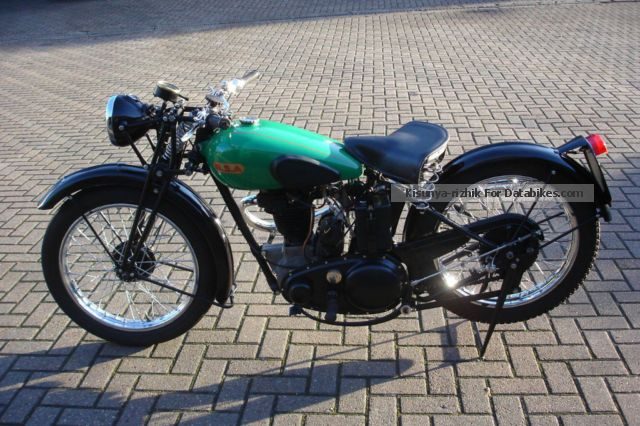 BSA  B26 1937 Vintage, Classic and Old Bikes photo