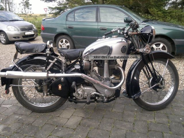 BSA  Silverstár 500 OHV 1939 Vintage, Classic and Old Bikes photo