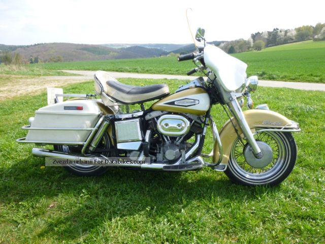 Harley Davidson  Harley-Davidson FLH 1200 Electra Glide Shovelhead Oldtimer 1970 Vintage, Classic and Old Bikes photo
