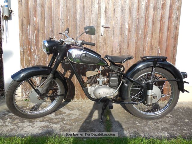 DKW  RT 125 1954 Vintage, Classic and Old Bikes photo