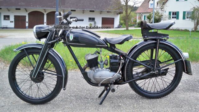 DKW  125 W 1951 Vintage, Classic and Old Bikes photo