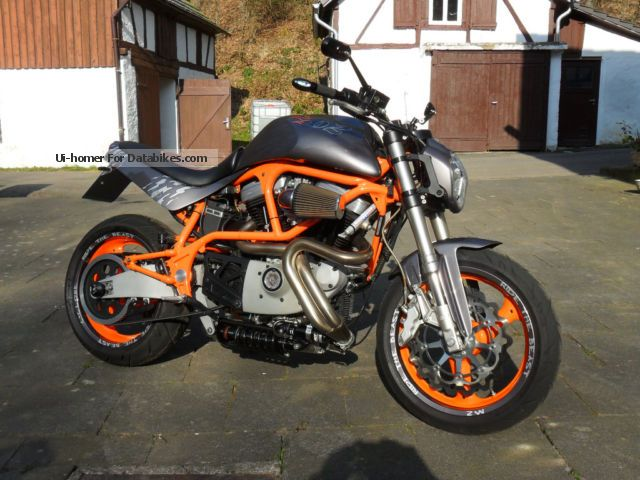 2001 Buell  M2 conversion Ride the Beast Motorcycle Motorcycle photo