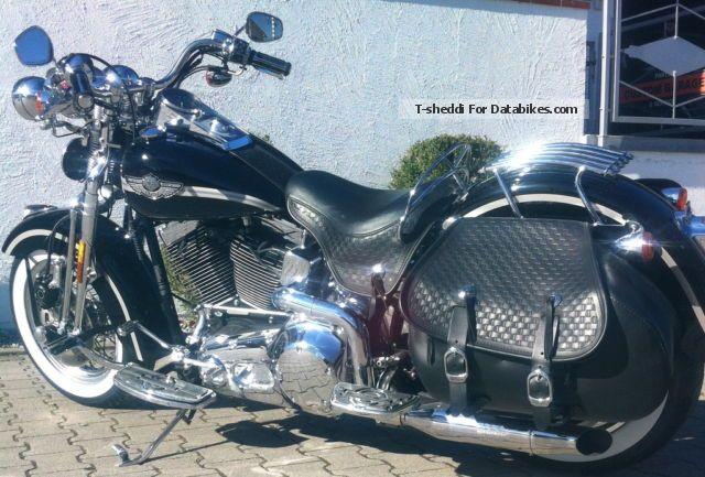 2012 Harley Davidson  Harley-Davidson Heritage Springer FLSTS 2003 special edition Anni Motorcycle Chopper/Cruiser photo
