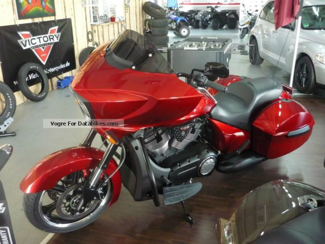 2014 VICTORY  Cross Country REMUS 5 years warranty Motorcycle Chopper/Cruiser photo