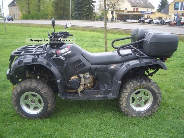 2011 CFMOTO  Atlas 500 4x4 LOF, winds with snow plow Motorcycle Quad photo