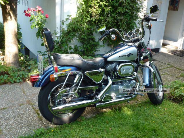 1999 Harley Davidson  Harley-Davidson XLH 1200 Custom Motorcycle Chopper/Cruiser photo