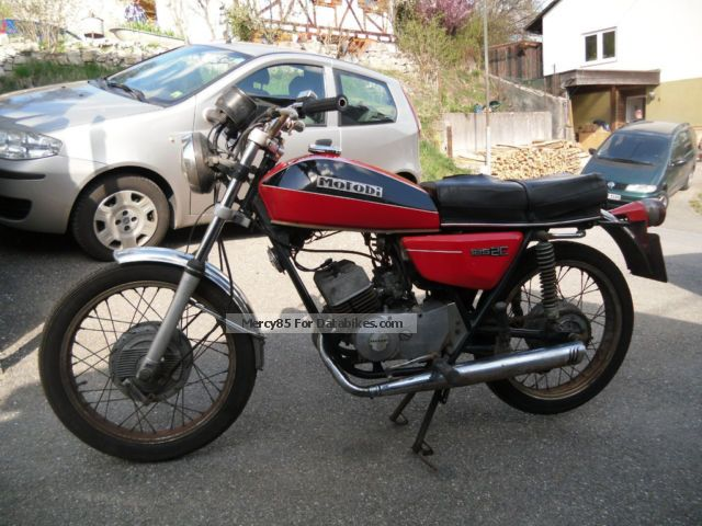 Motobi  125 - Benelli Moto Guzzi 125 1973 Vintage, Classic and Old Bikes photo