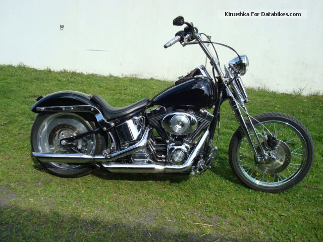 Harley Davidson  Harley-Davidson FXSTS Year 2001 TÜV 2015 2001 Chopper/Cruiser photo