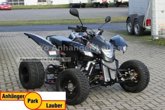 2014 Explorer  Trasher 320 SM, black, retail Motorcycle Quad photo
