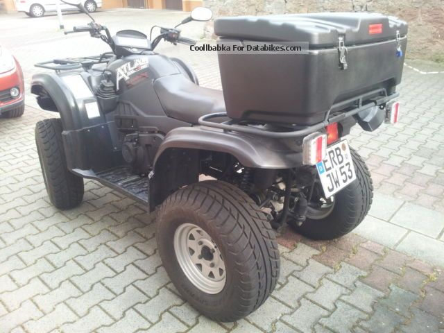 2007 Explorer  Atlas 500 4x4 long version Motorcycle Quad photo