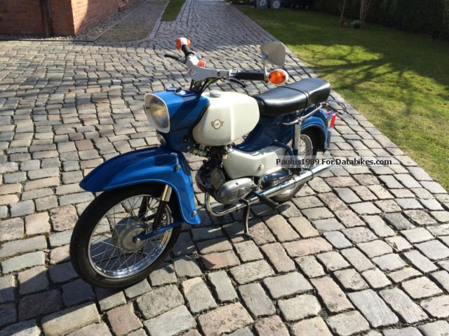 Simson  Habicht SR4-4 (rebuild) 1973 Vintage, Classic and Old Bikes photo