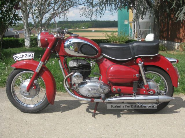 Puch  SGS 1955 Vintage, Classic and Old Bikes photo
