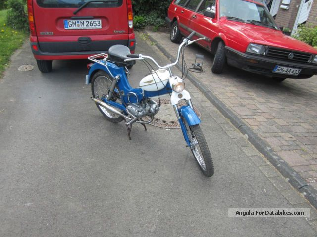 Puch  MS 50 V 1973 Vintage, Classic and Old Bikes photo