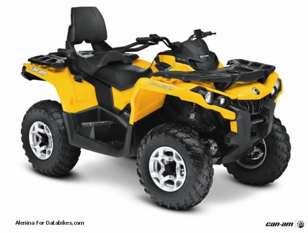 Bombardier  Can-Am Outlander MAX 800 DPS EC 2013 + Winter Package 2012 Quad photo