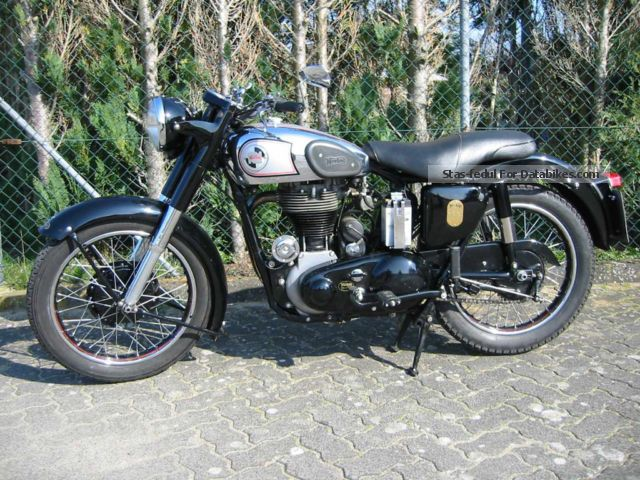 Norton  19 S 1955 Vintage, Classic and Old Bikes photo