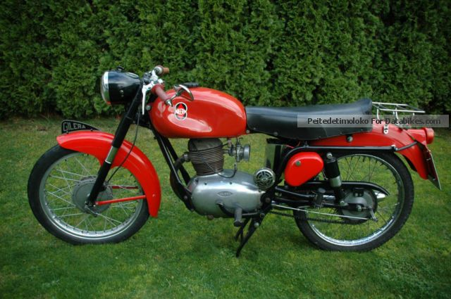 Gilera  150 Sports 1954 Vintage, Classic and Old Bikes photo
