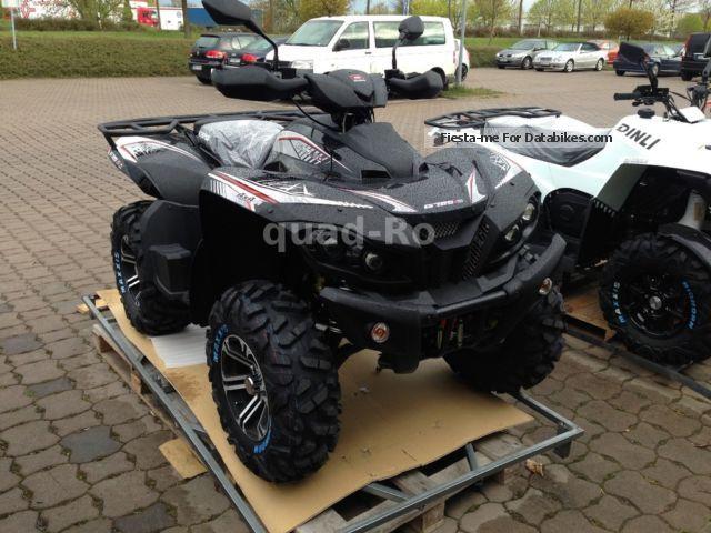 2012 GOES  G i S 725 4x4 LOF black Motorcycle Quad photo