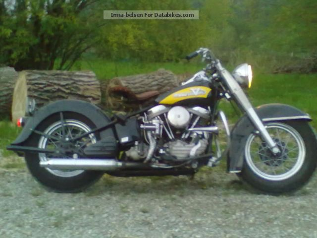 Harley Davidson  Harley-Davidson FL Hydra Glide 1957 Vintage, Classic and Old Bikes photo