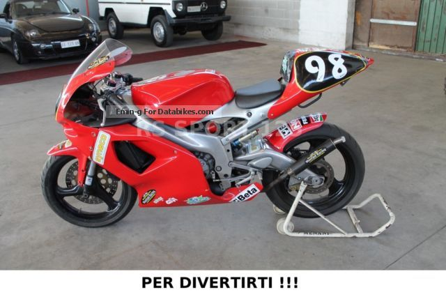 Aprilia  mito125 RS sports production 2005 Racing photo