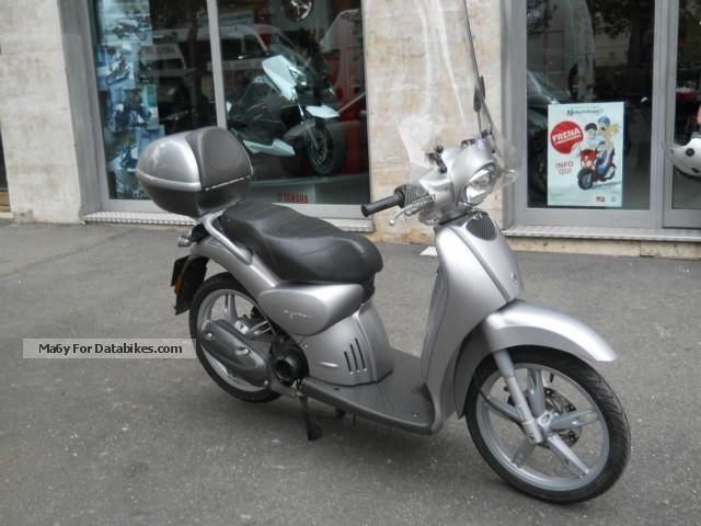 2008 Aprilia  Scarabeo 50 4 TEMPI Motorcycle Motor-assisted Bicycle/Small Moped photo