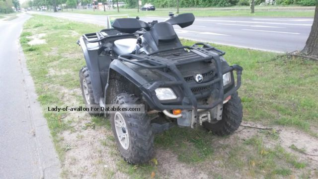 2009 Bombardier  CANAM Outlander 650XT 4x4 Motorcycle Quad photo