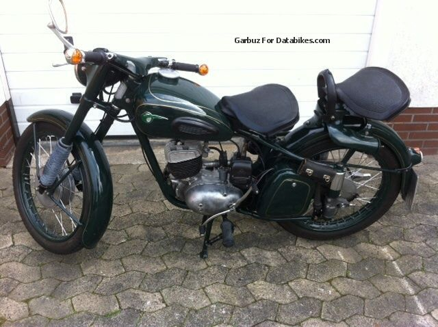 Mz  RT 125/2 1961 Vintage, Classic and Old Bikes photo