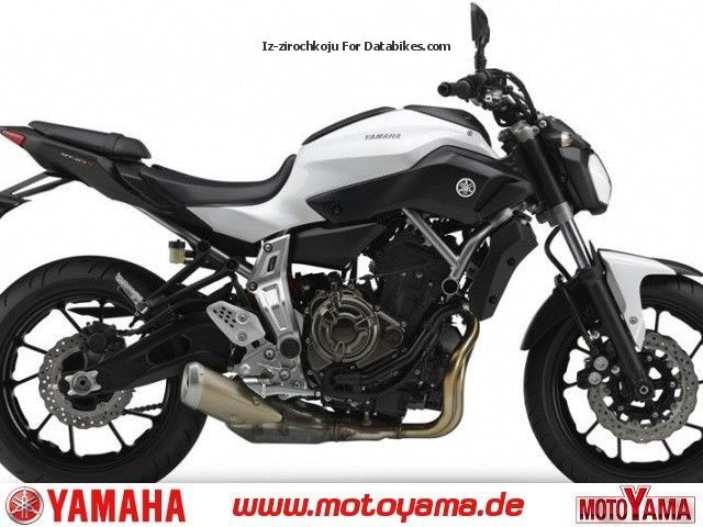 2012 Yamaha  MT-07, New \she comes! Motorcycle Motorcycle photo