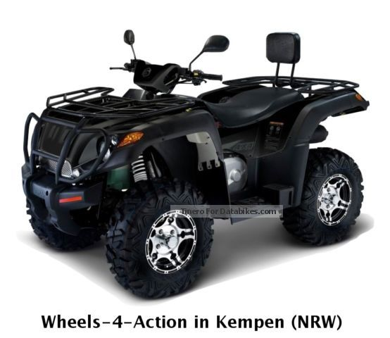 2012 Aeon  ATV AX 600 4x4 model 2013 LOF 41 HP TOP Motorcycle Quad photo