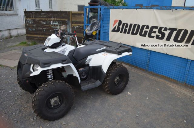 2013 polaris sportsman 500 110km gone with lof package