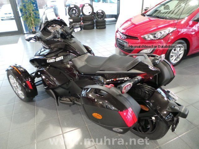 Can Am Spyder St Unveiled | Apps Directories