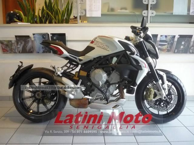 2012 MV Agusta  Brutal Dragster 800 Eas Abs Motorcycle Naked Bike photo